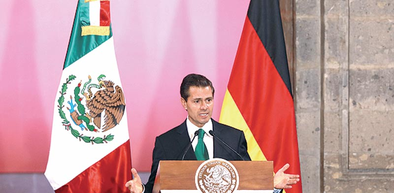 Mexican president Photo: Reuters