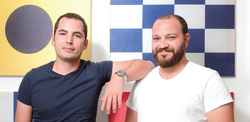 Matan Peled and Ami Daniel Photo: Eyal Yizhar