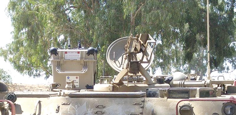 Mortar warning system Photo: IDF Spokesman
