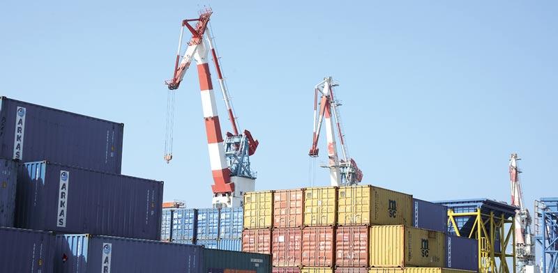 סחורות בנמל אשדוד. עלייה אחרי תקופה ארוכה של קיפאון וירידות / צילום: איל יצהר