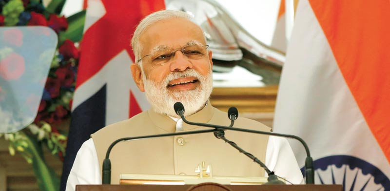 Indian Prime Minister Modi Photo: Reuters