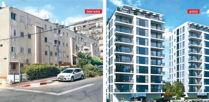 התחדשות עירונית ברמת-גן: 55 דירות חדשות במקום 20 ישנות
