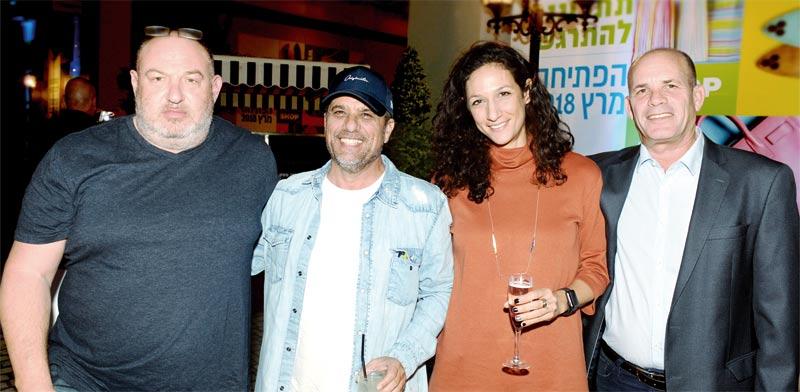 גדי שטרן תותי פיינר ניצן ישראלי והראל ויזל / צילום: מורג ביטן