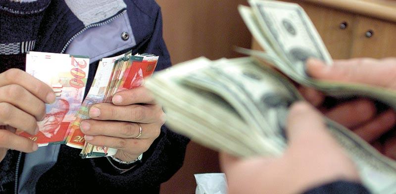 דולר מול שקל / צילום: רויטרס