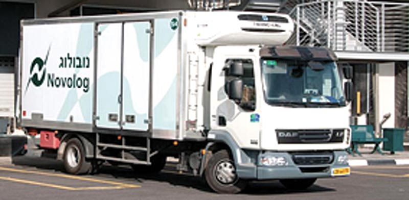 Novolog truck  photo: Company website