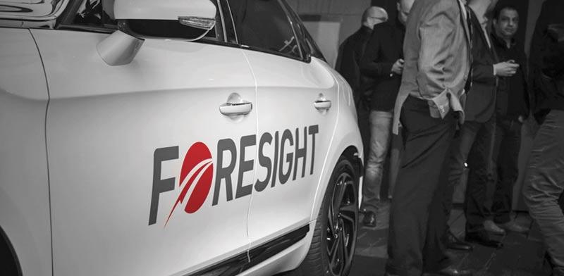 רכב עם המערכת של פורסייט / צילום: יחצ