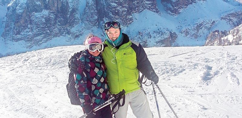 דביר אינדיג ואחותו גיתית אינדיג בסקי / צילום: אביטל אינדיג