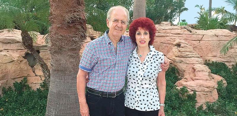 תמי ויהודה רוה בקאריביים / צילום: אלבום משפחתי