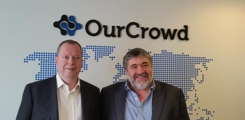 Peter Terium and Jon Medved Photo PR