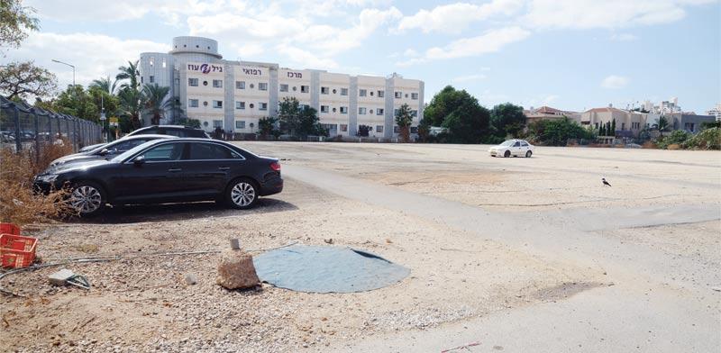 הקרקע להקמת הפרויקט / צילום: איל יצהר