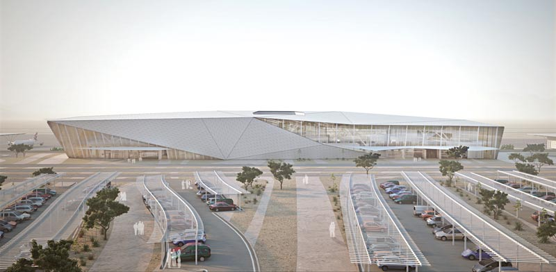 Ramon Airport Photo: Shinar Architects