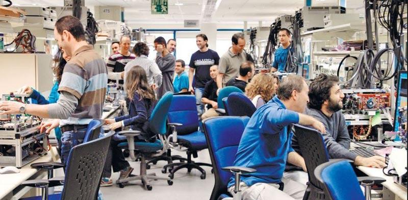 Intel lab, Haifa  photo:courtesy Intel