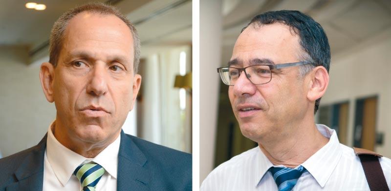 שי ניצן (מימין) ושמואל האוזר / צילומים: שלומי יוסף, איל יצהר