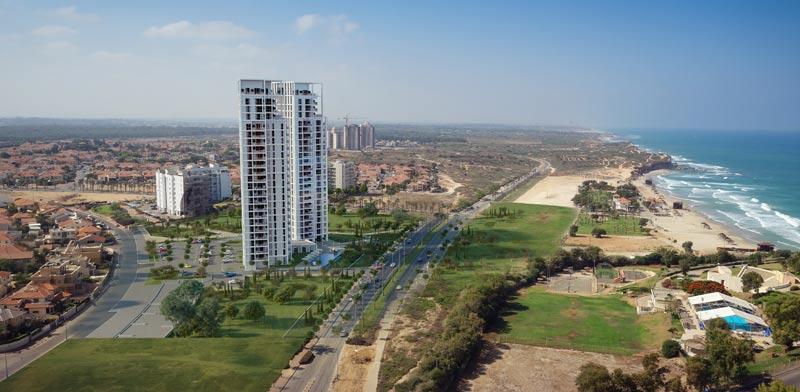 חלום לים התיכון: לגור במגדלי יוקרה מול הים