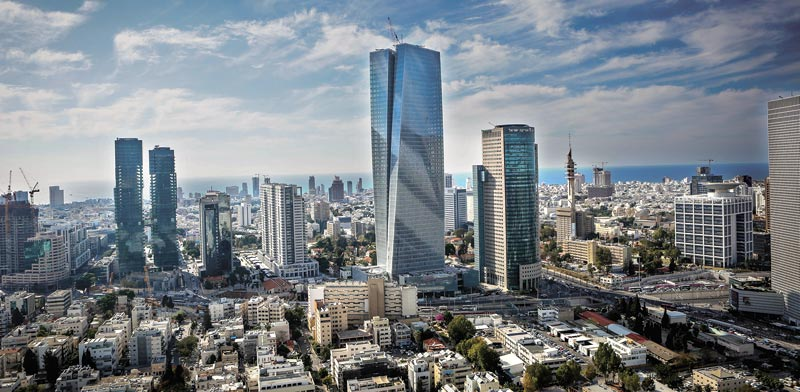 Azrieli Sarona Tower Photo: Shlomi Yosef