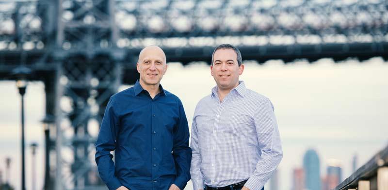 David Kostman and Yaron Galai Photo: Noam Galai