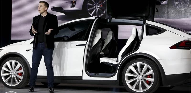 Elon Musk  photo: Stephen Lam, Reuters