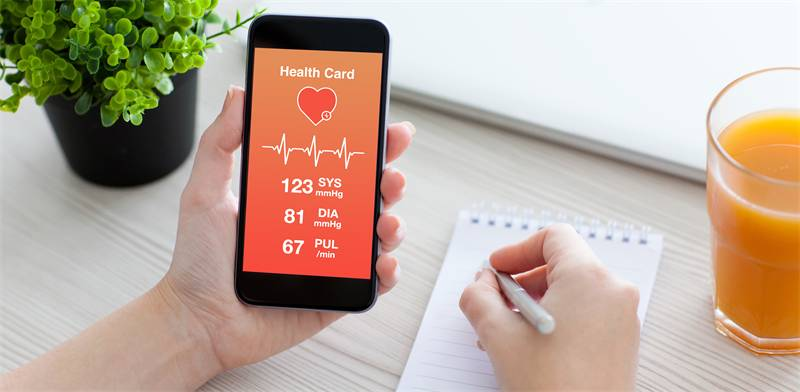 Health app Photo: Shutterstock ASAP Creative