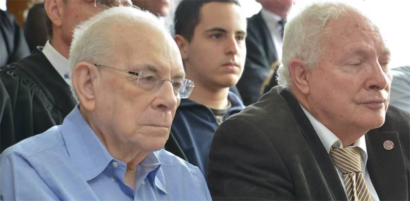 אליהו וינוגרד (משמאל) / צילום: תמר מצפי