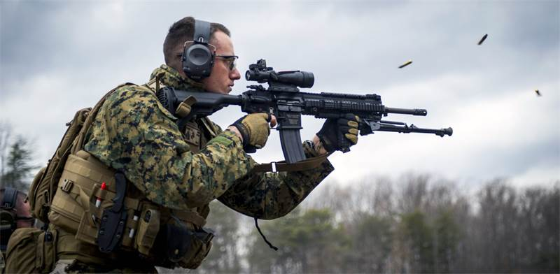 M16 OUT / צילום: חיל הנחתים האמריקאי