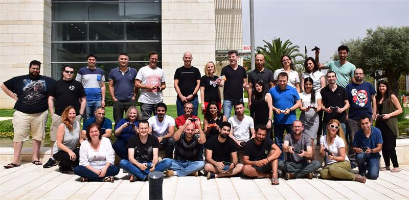GameFly's Israel team Photo: PR