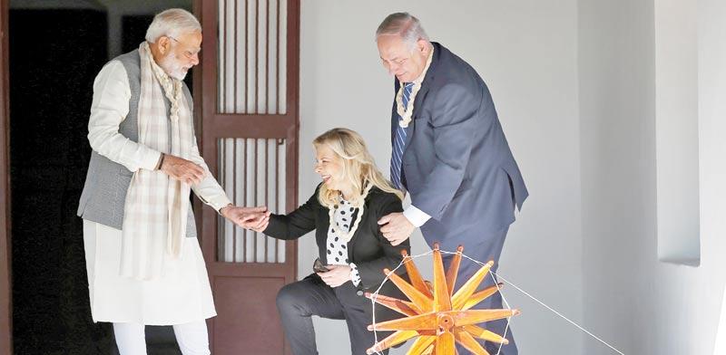 ישראל בהודו: החגיגה - והחרדה