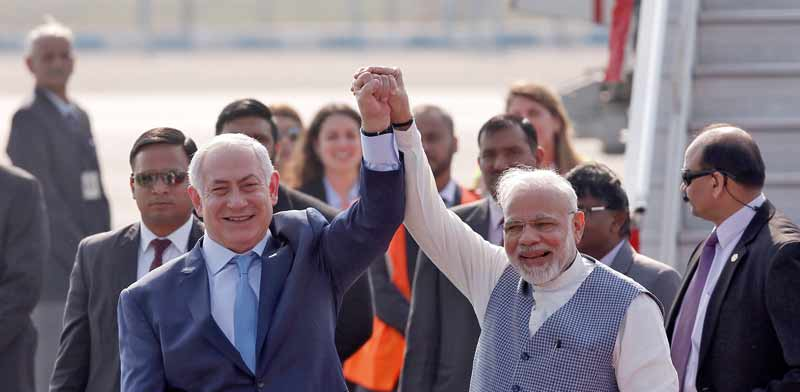 Netanyahu meets Modi Photo: Reuters Adnan Abidi