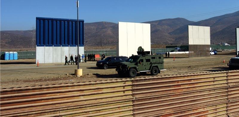 """גבול ארה""""ב–מקסיקו / צילום: רויטרס, Jorge Duenes"""