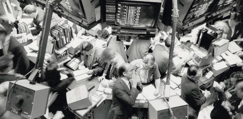 בורסת  nyse באוקטובר 1987 / צילום: רויטרס