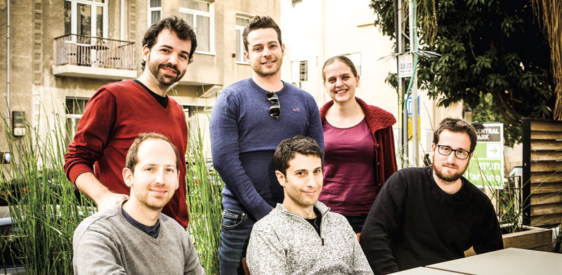 IOTA Foundation Israeli R&D team photo: Shlomi Yosef
