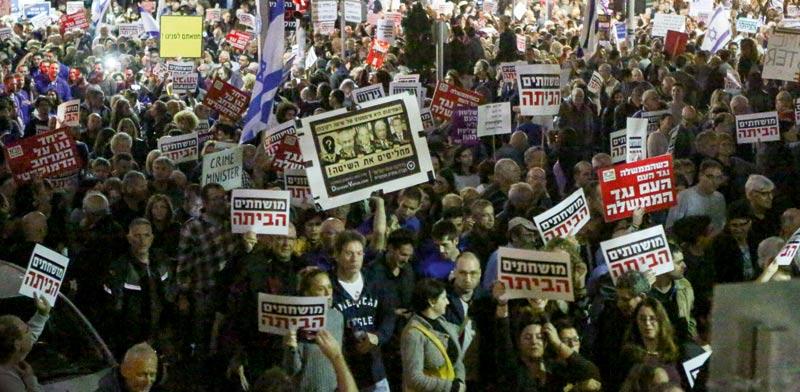 הפגנה ברוטשילד / צילום: שלומי יוסף