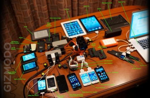 הגאדג'טים של סטיב ווזניאק/ מתוך Gizmodo.com