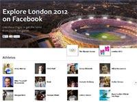 עמוד אינטרנט ייעודי של פייסבוק לאולימפיאדה/ צילום מסך