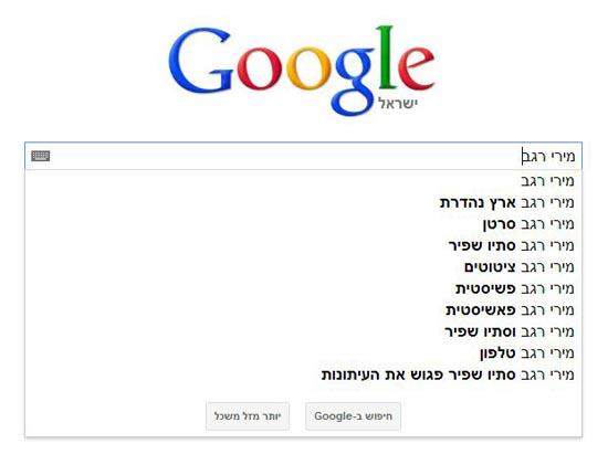 אתר טרנדים בפוליטיקה הישראלית פוליטירנד / מתוך: צילום מסך