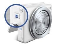 מצלמת PowerShot N Facebook ready \ מתוך: צילום מסך Canon