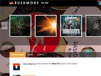 רשת חברתית למוזיקה / מתוך: צילום מסך Rushmore.fm