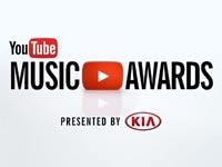 טקס פרסי המוזיקה הראשון של יוטיוב \ מתוך: צילום מסך יוטיוב