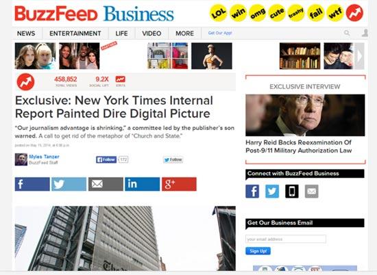 הדוח המודלף של הניו יורק טיימס / מתוך: צילומי מסך