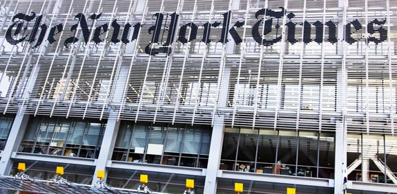 ניו יורק טיימס / מתוך: שאטרסטוק