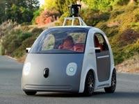 """רכב אוטונומי ללא נהג של גוגל / צילום: יח""""צ"""
