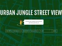 גרסת הג'ונגל של לסטריט וויו \ מתוך: צילום מסך Urban Jungle Street View