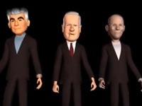 סרטון הסתה,  נתניהו, לפיד ובנט מתעללים בחרדי / מתוך: צילום מסך יוטיוב