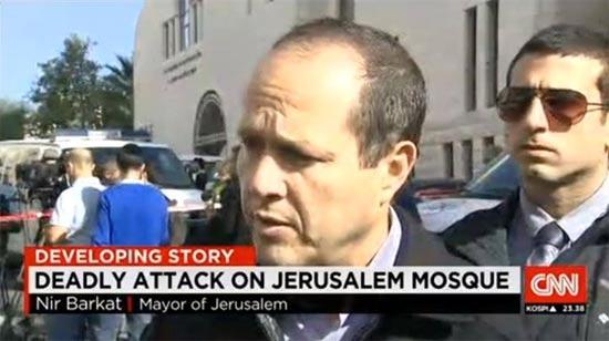 ניר ברקת / צילום מסך CNN