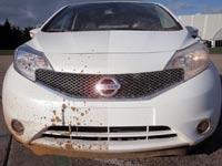 הרכב של ניסן שמנקה את עצמו / מתוך: צילום מסך יוטיוב