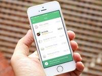 """אפליקציית Thumbtack לאייפון / מתוך: יח""""צ"""
