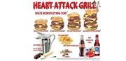 """מסעדת """"גריל התקף לב / מתוך האתר של המסעדה"""
