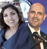 אמיר אוחנה, נעמה יששכר / צילום: כדיה לוי, רויטרס