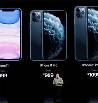 חשיפת המחיר של אייפון 11 / צילום: סטיבן לאם, רויטרס