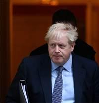 ראש ממשלת בריטניה בוריס ג'ונסון / צילום: Tom Nicholson, רויטרס