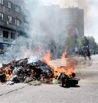 הפגנות בצ'ילה / צילום: שני אשכנזי, גלובס